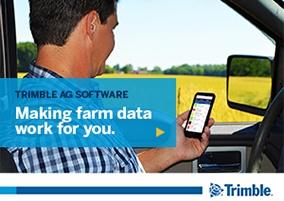 Trimble Ag Software Farm Data Solution
