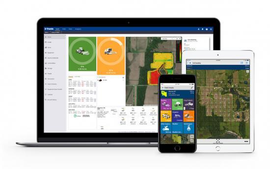 Trimble Ag Software Mobile App