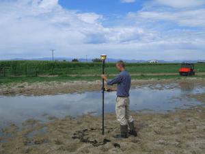 Trimble Agriculture Water Management GPS