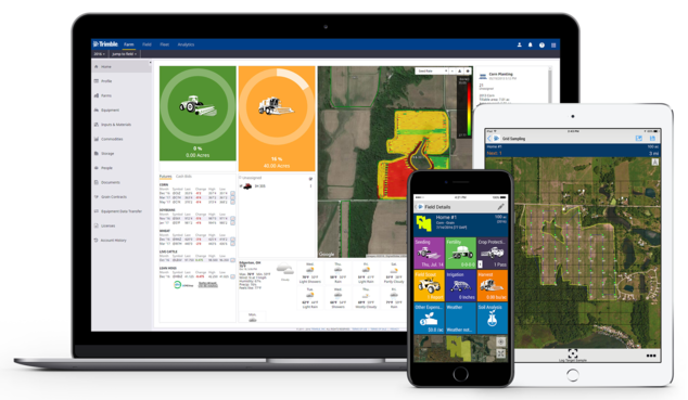 Trimble Mobile Farm Software