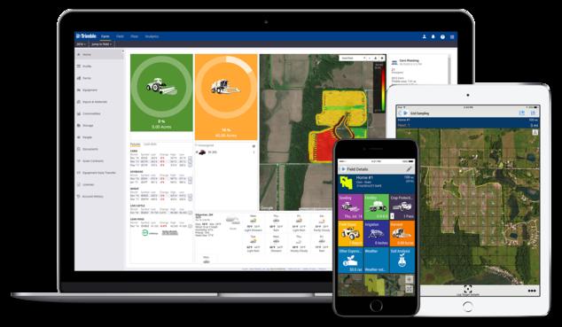 Trimble Mobile Farm Software