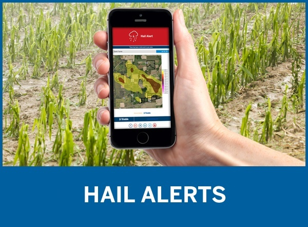 Hail Alerts by Trimble Ag Software